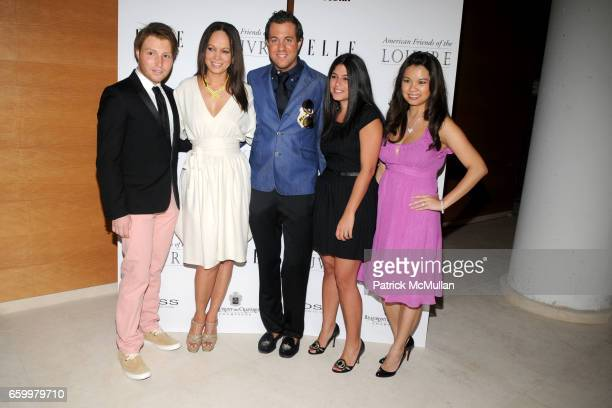 David Chines Miguelina Gambaccini Kristian Laliberte guest and MinaJacqueline Au attend AMERICAN FRIENDS OF THE LOUVRE's Young Patrons Circle Soiree...