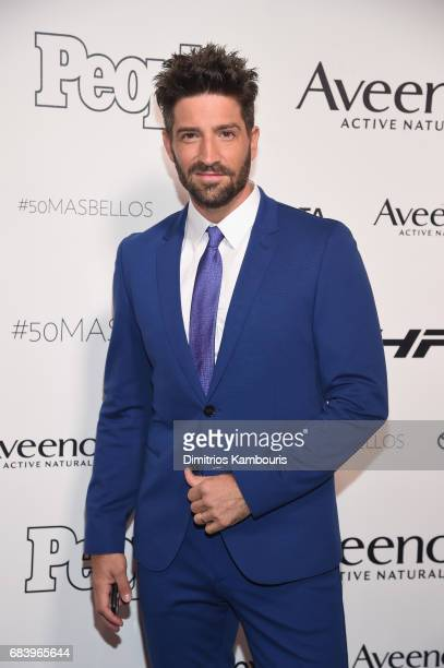 David Chocarro arrives at People en Espanol's 50 Most Beautiful Gala 2017 at Espace on May 16 2017 in New York City