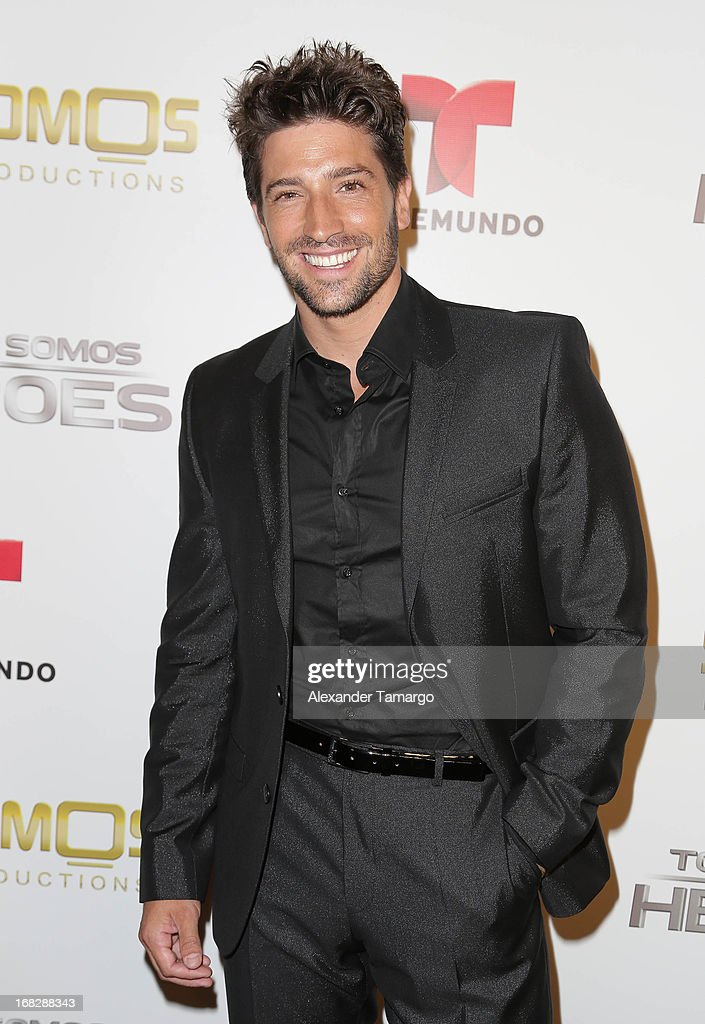 David Chocarro attends Telemundo's Todos Somos Heroes Gala on May 7, 2013 in Miami, Florida.