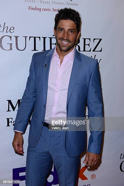 David Chocarro attends the 12th Annual FedEx/St Jude Angels And Stars Gala at JW Marriott Marquis on May 17 2014 in Miami Florida