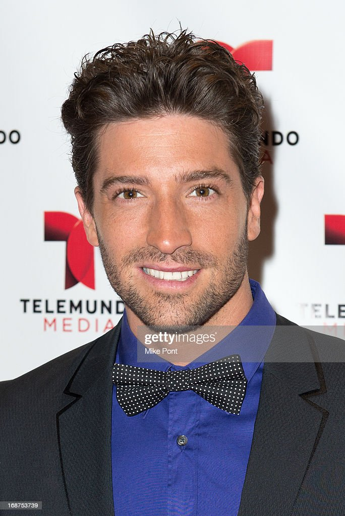 David Chocarro attends the 2013 Telemundo Upfront at Frederick P. Rose Hall, Jazz at Lincoln Center on May 14, 2013 in New York City.