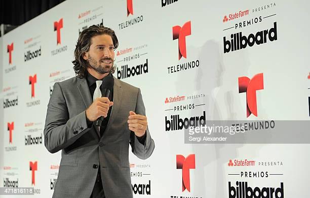 David Chocarro attends the 2015 Billboard Latin Music Awards 'Premios Billboard' at BankUnited Center on April 30 2015 in Miami Florida