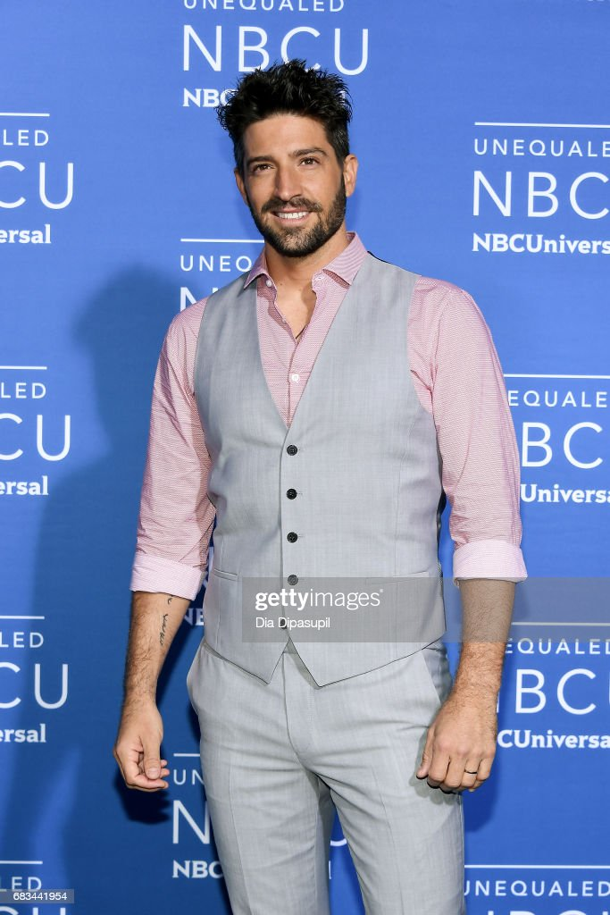 David Chocarro attends the 2017 NBCUniversal Upfront at Radio City Music Hall on May 15, 2017 in New York City.