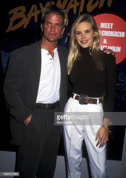 David Chokachi and Gena Lee Nolin at the 1996 National Association of Television Program Executives Convention Sands Convention Center Las Vegas