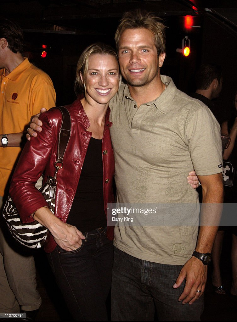 David Chokachi and wife during Celebrate Life! Benefit Concert For American Foundation For Suicide Prevention - Red Carpet and Inside at Knitting Factory in Hollywood, CA., United States.