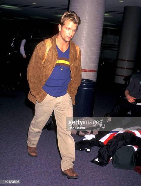 David Chokachi at Los Angeles International Airport Los Angeles