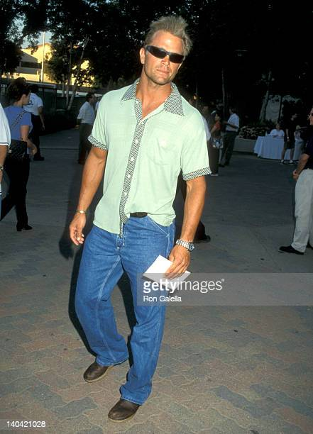 David Chokachi at the An Evening at the Net Benefit the United Friends of the Children Organization LA Tennis Center at UCLA Westwood