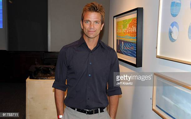 David Chokachi attends The Surfrider Foundation's 25th Anniversary Gala at the California Science Center's Wallis Annenberg Building on October 9...