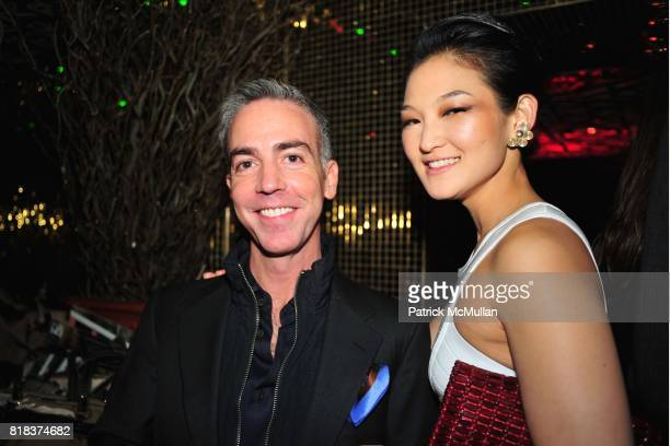 David Clay and Nani Ahn attend The Launch of the New MODELSHOTEL Benefiting FASHION DELIVER'S HOPE to Haiti Relief Efforts at Juliet on February 8th...