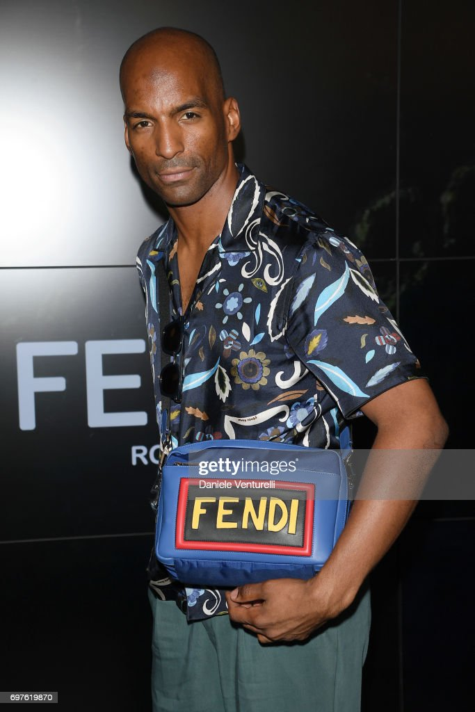 David Comrie attends the Fendi show during Milan Men's Fashion Week Spring/Summer 2018 on June 19, 2017 in Milan, Italy.