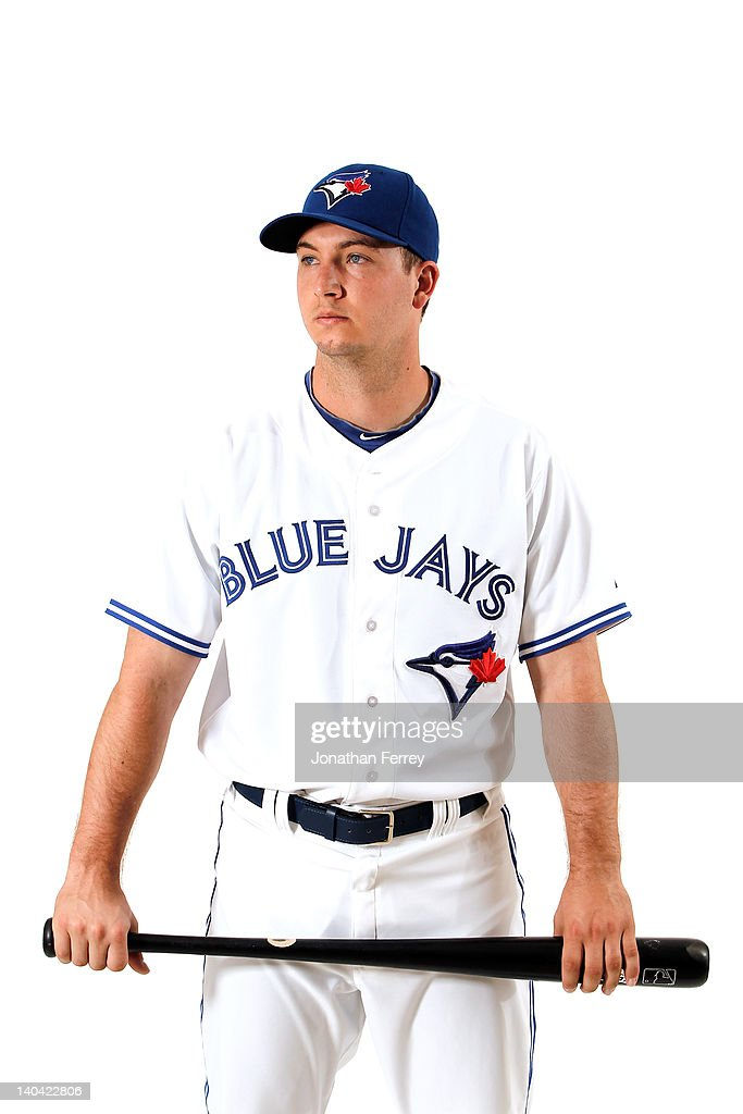 David Cooper #30 of the Toronto Blue Jays poses for a portrait at Dunedin Stadium on March 2, 2012 in Dunedin, Florida.