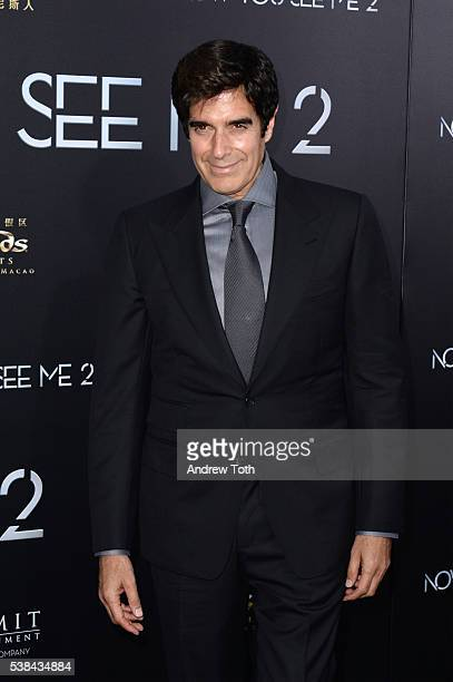 David Copperfield attends the 'Now You See Me 2' world premiere at AMC Loews Lincoln Square 13 theater on June 6 2016 in New York City