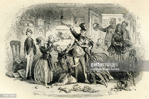 david copperfield book stock photos and pictures getty images david copperfield restoration of mutual confidence between mr and mrs micawber
