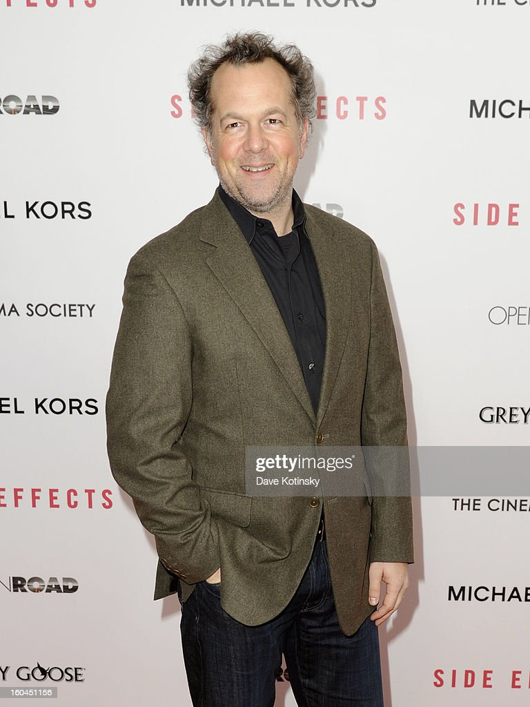 David Costabile attends the premiere of 'Side Effects' hosted by Open Road with The Cinema Society and Michael Kors at AMC Lincoln Square Theater on January 31, 2013 in New York City.