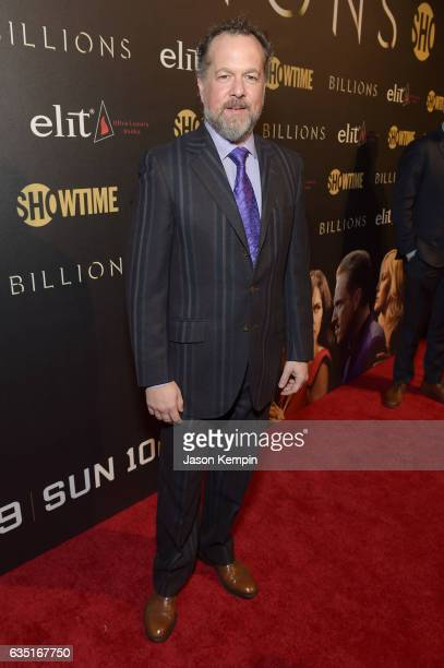 David Costabile attends the Showtime and Elit Vodka hosted BILLIONS Season 2 premiere and party held at Cipriani's in New York City on February 13...