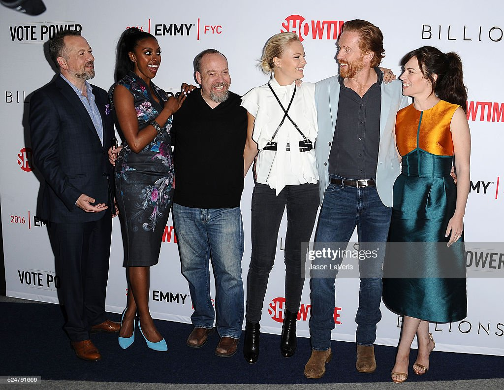 David Costabile Condola Rashad Paul Giamatti Malin Akerman Damian Lewis and Maggie Siff attend the For Your Consideration screening and panel for...