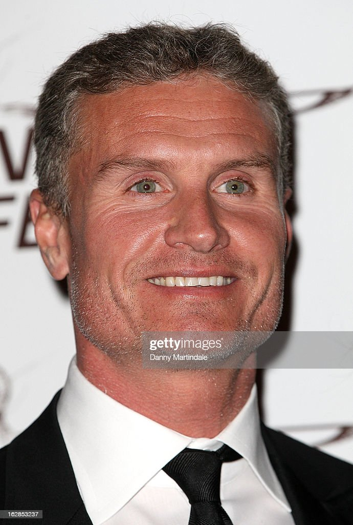 <a gi-track='captionPersonalityLinkClicked' href=/galleries/search?phrase=David+Coulthard&family=editorial&specificpeople=171316 ng-click='$event.stopPropagation()'>David Coulthard</a> attends a dinner and ball hosted by The Cord Club in aid of Wings For Life at One Marylebone on February 28, 2013 in London, England.