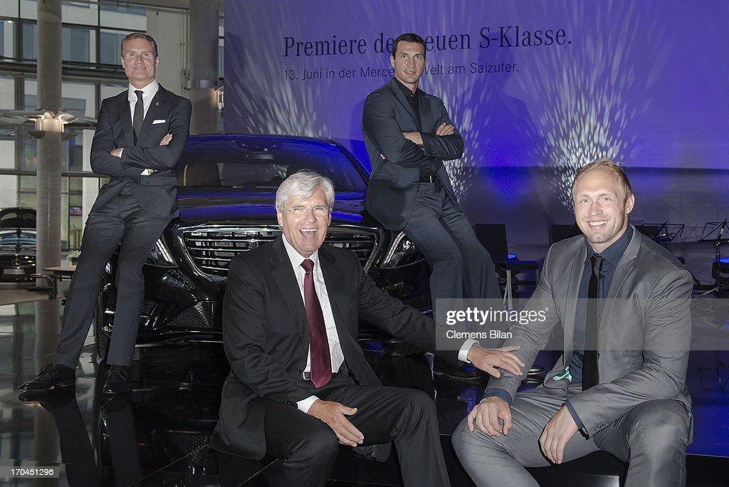 New 'S-Klasse' Exclusive Premiere In Berlin
