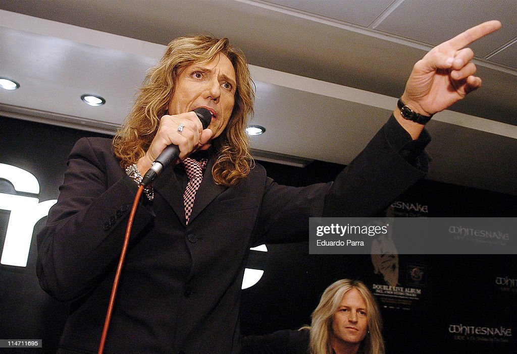 Whitesnake Performs at FNAC Madrid Forum in Madrid - November 28, 2006