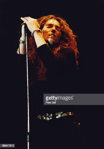 David Coverdale of Whitesnake performs on stage at The Reading Festival on August 24th 1980 in Reading Berkshire England