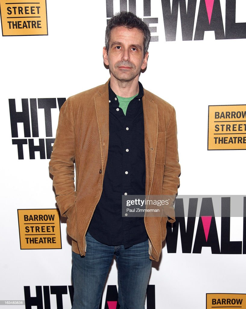 David Cromer attends the 'Hit The Wall' Off Broadway opening night at the Barrow Street Theatre on March 10, 2013 in New York City.