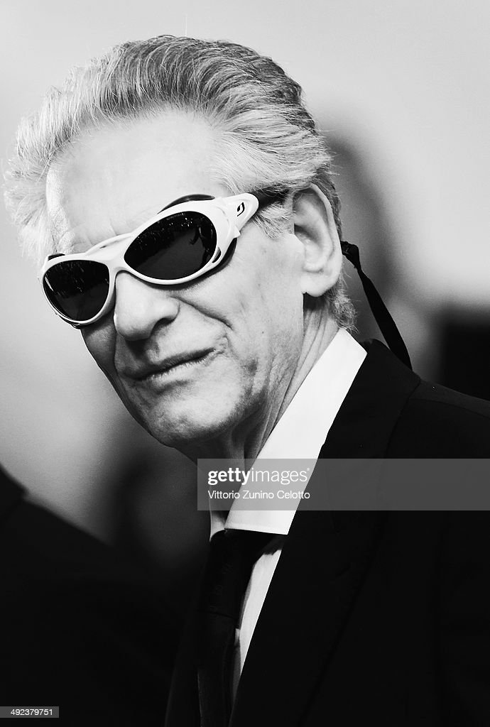 <a gi-track='captionPersonalityLinkClicked' href=/galleries/search?phrase=David+Cronenberg&family=editorial&specificpeople=214619 ng-click='$event.stopPropagation()'>David Cronenberg</a> attends the 'Maps To The Stars' premiere during the 67th Annual Cannes Film Festival on May 19, 2014 in Cannes, France.