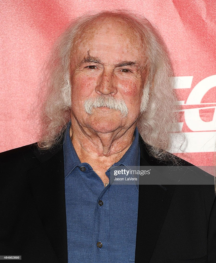 David Crosby attends the 2014 MusiCares Person of the Year honoring Carole King at Los Angeles Convention Center on January 24, 2014 in Los Angeles, California.