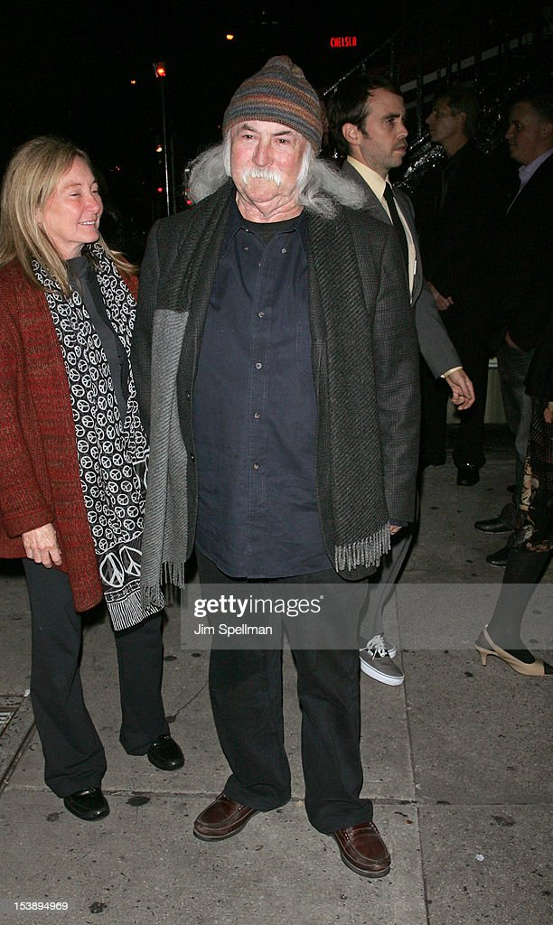David Crosby attends The Cinema Society with Hugo Boss and Appleton Estate screening of 'Seven Psychopaths' at Clearview Chelsea Cinemas on October 10, 2012 in New York City.