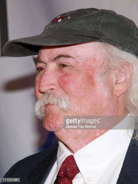 David Crosby during 2006 BMI Pop Music Awards Arrivals and Show at Regent Beverly Wilshire Hotel in Beverly Hills California United States