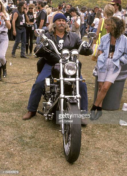 David Crosby during 'Love Ride' 7 to Benefit Muscular Dystrophy at Glendale Harley Davidson in Glendale California United States