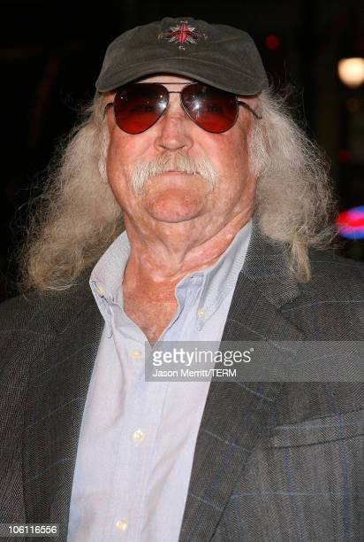 David Crosby during 'Man of the Year' Los Angeles Premiere Arrivals at Mann's Chinese Theater in Hollywood California United States