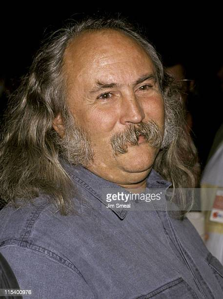David Crosby during Roy Orbison Tribute at Universal Ampitheater in Universal City California United States
