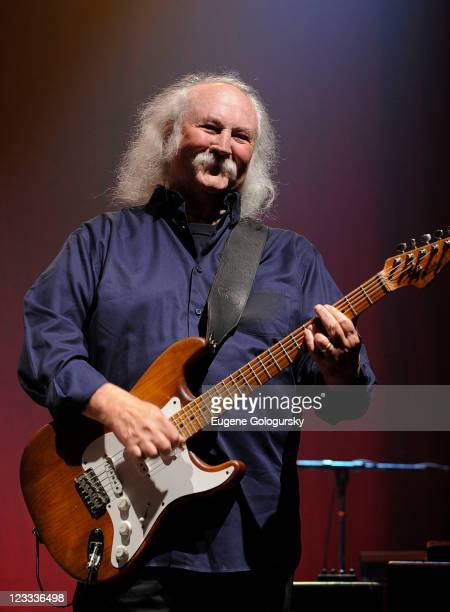 David Crosby performs at Hamptons Rocks For Charity To Benefit OCRF and CCFA at East Hampton Studio on September 1 2011 in Wainscott New York