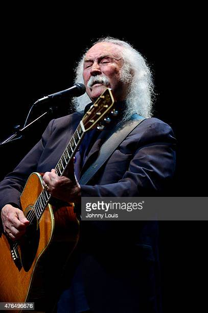 David Crosby performs at The Fillmore on June 9 2015 in Miami Beach Florida