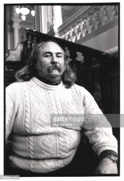 David Crosby portrait Amstel Hotel Amsterdam Netherlands 26th February 1989
