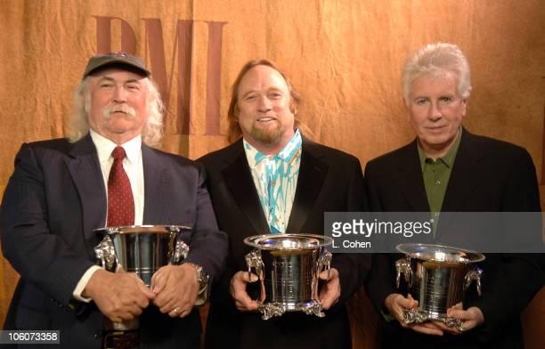 David Crosby Stephen Stills and Graham Nash recipients of the BMI ICON Award