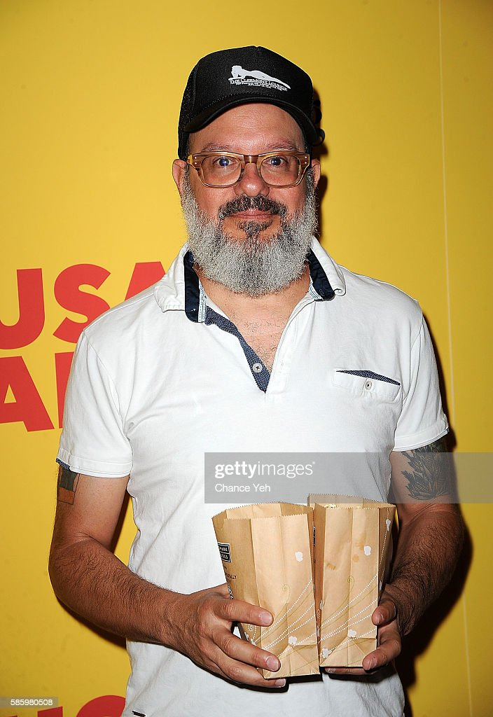 David Cross attends 'Sausage Party' New York premiere at Sunshine Landmark on August 4, 2016 in New York City.