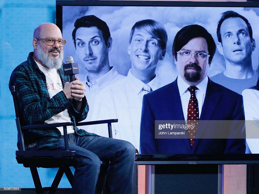 David Cross of 'Todd Margaret' speaks during AOL Build speaker series at AOL Studios In New York on January 6, 2016 in New York City.
