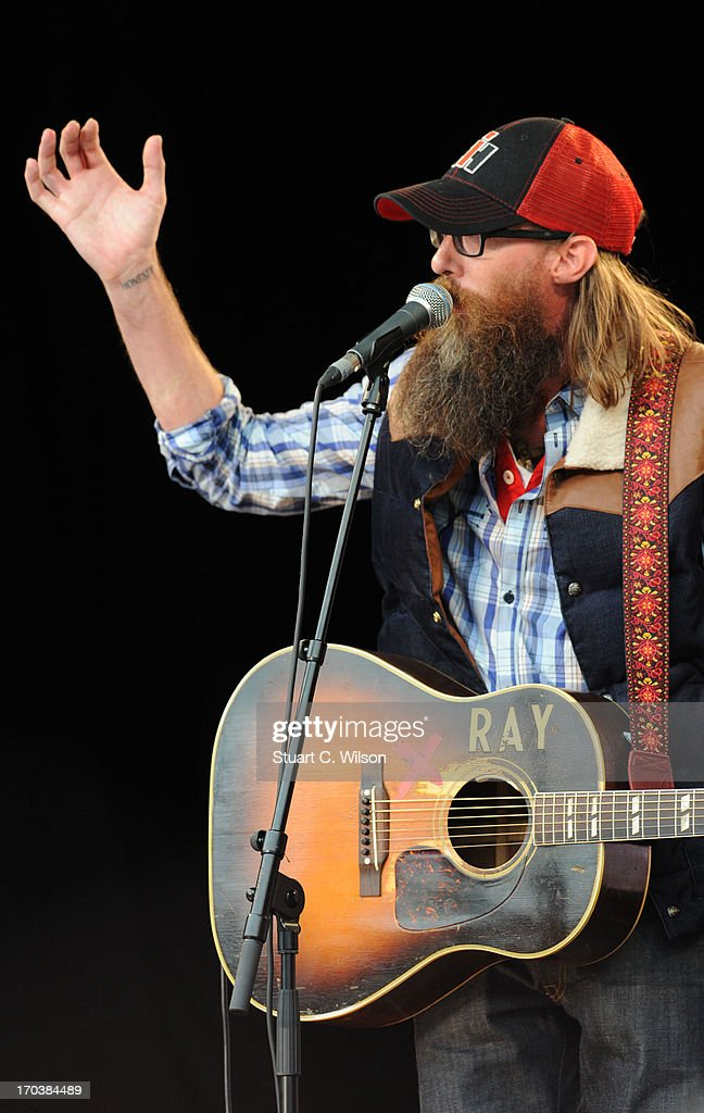 David Crowder performing at agit8 at Tate Modern, ONE's campaign ahead of the G8 on June 12, 2013 in London, England.