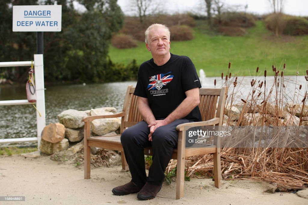 David Cundall, a farmer and aviation enthusiast from Lincolnshire, is photographed prior to his departure to Burma to begin a search for numerous buried British spitfire aircraft on January 4, 2013 in London, England. Mr Cundall has spent the past 17 years conducting an investigation into the whereabouts of as many as 60 unused, unassembled Spitfires that are believed to have been buried in the Burmese jungle following World War II.