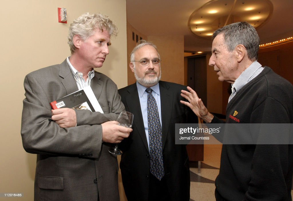 David D'Arcy, Rabbi Abraham Cooper and Al Levin during 'Protocols of Zion' New York City Screening and Panel Discussion at HBO Theater in New York City, New York, United States.