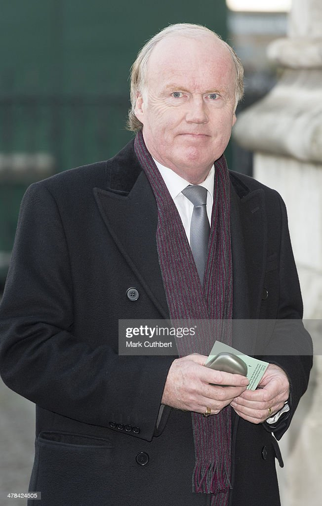 David Davies attends a memorial service for Sir David Frost at Westminster Abbey on March 13, 2014 in London, England.