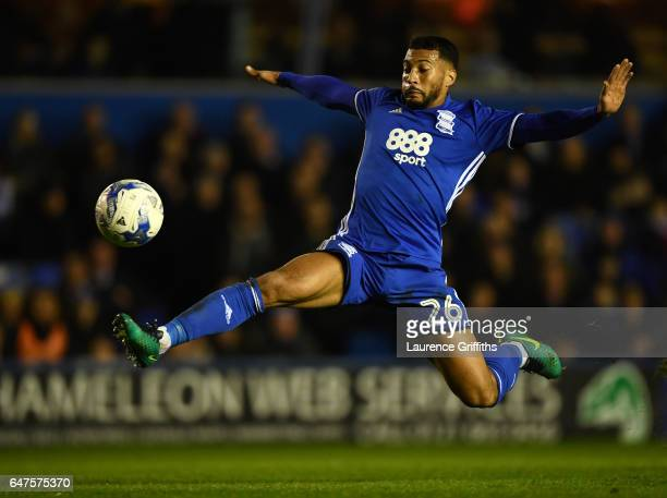 David Davis of Birmingham City in actionduring the Sky Bet Championship match between Birmingham City and Leeds United at St Andrews on March 3 2017...