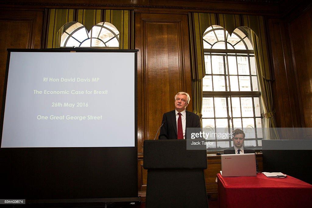 David Davis Warns Remaining In The EU Will Damage British Jobs
