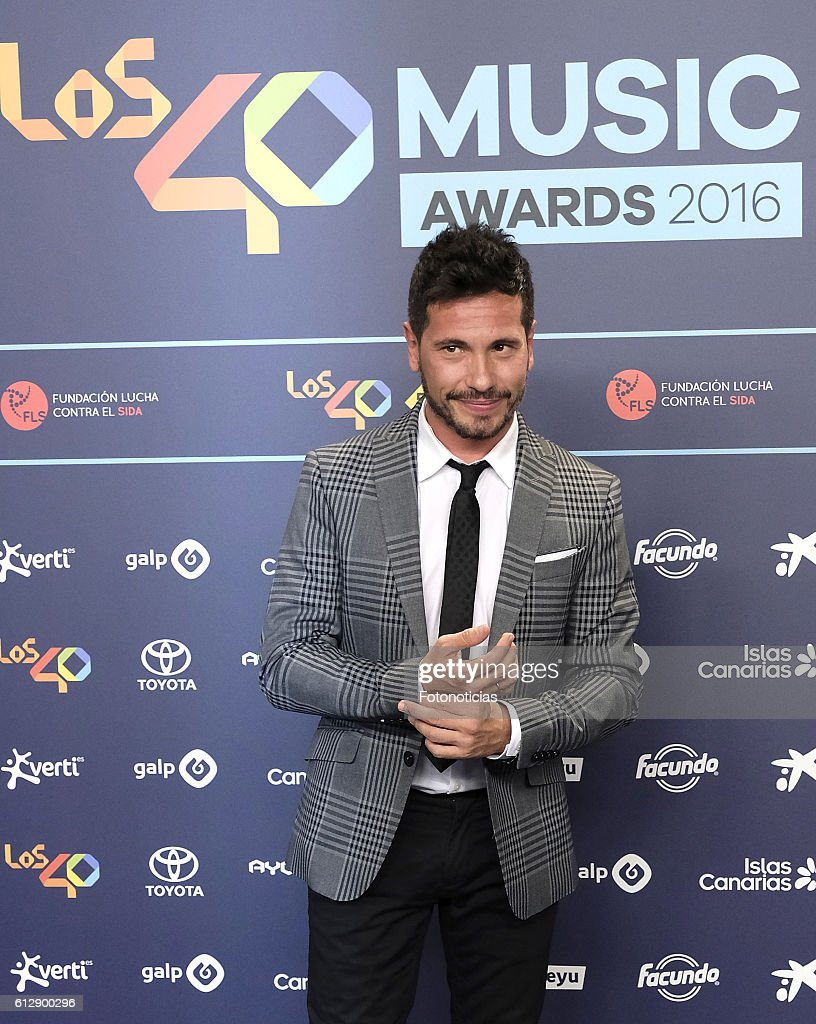 'Los40 Music Awards' 2016 Madrid Photocall