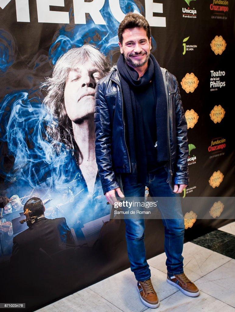 'Jose Merce Sinfonico' Madrid Photocall