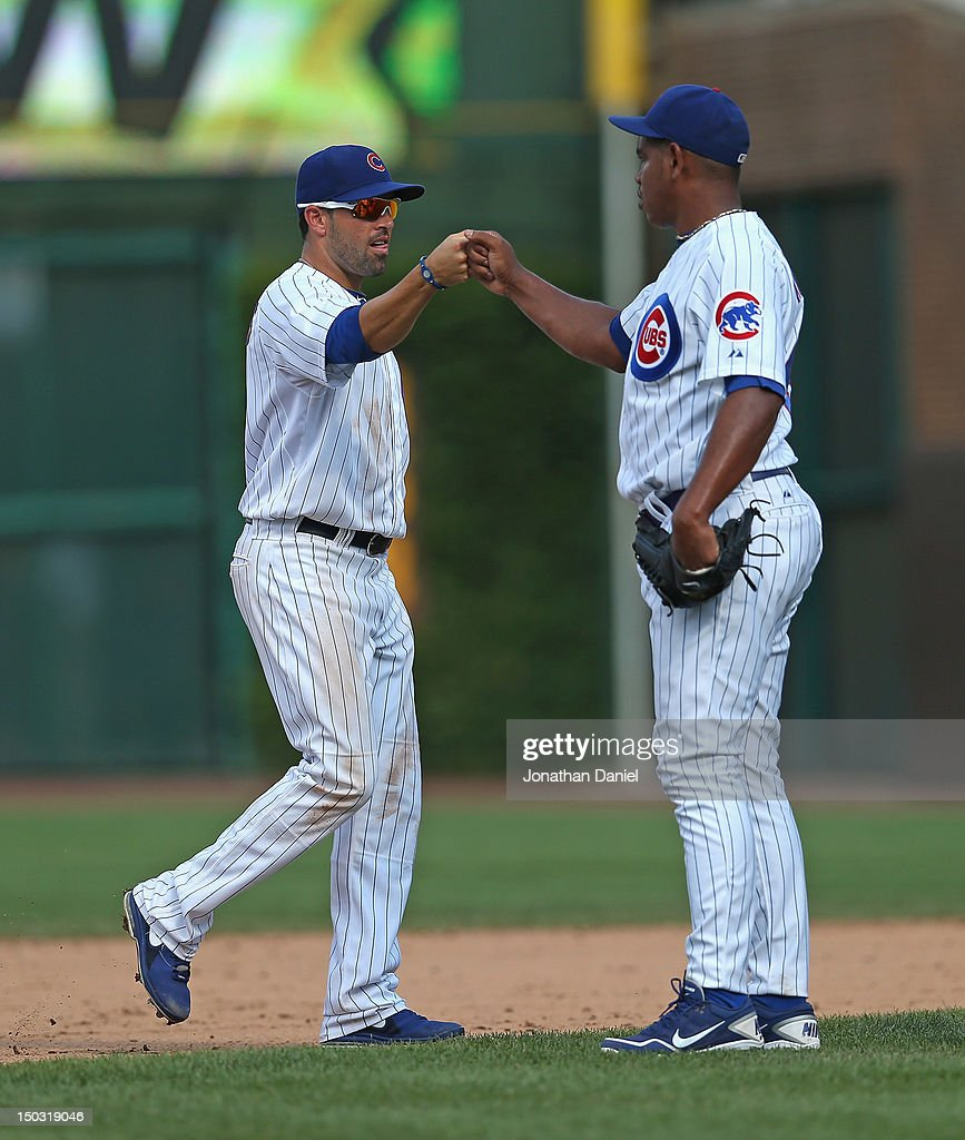 Houston Astros v Chicago Cubs s and