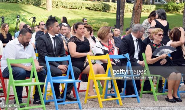 David Delfin's mother Maria Gonzalez Corbacho and Pepon Nieto attend the National Fashion Award to David Delfin The designer died last 3th June on...