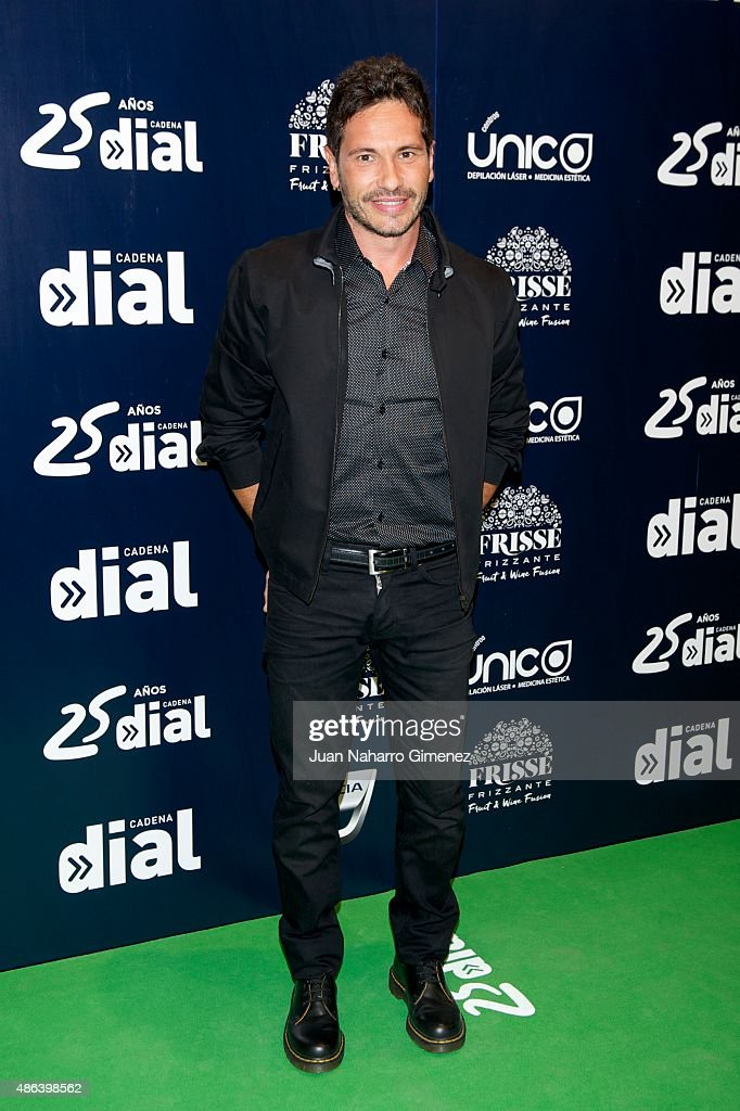 'Cadena Dial' 25th Anniversary Concert in Madrid - Photocall