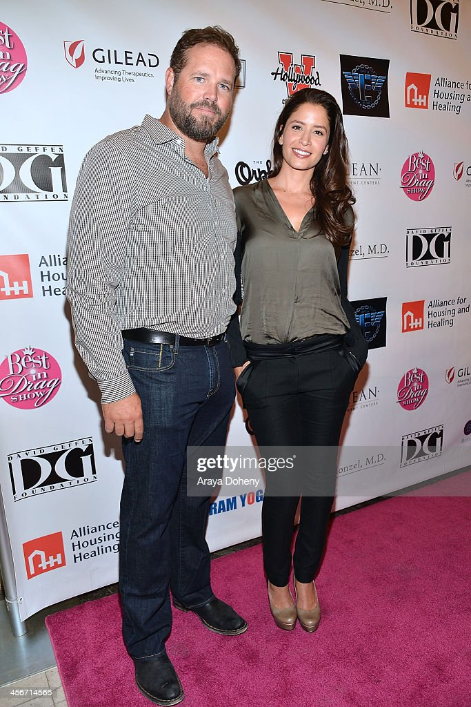 David Denman and Mercedes Masohn attend the 12th Annual Best In Drag Show at Orpheum Theatre on October 5 2014 in Los Angeles California